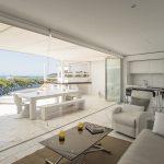 Salon cocina terraza